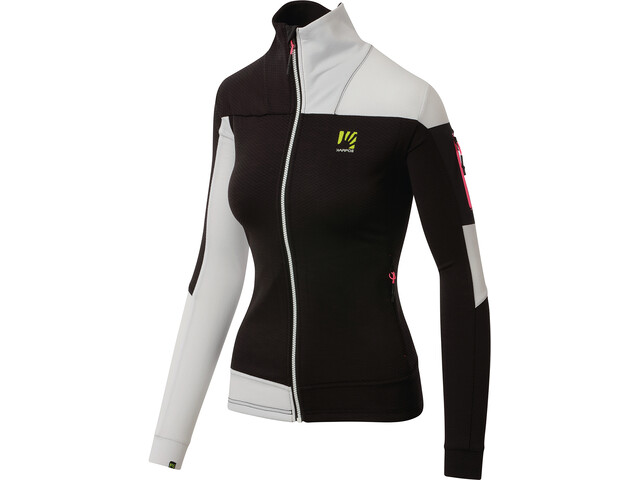 Karpos Puez Fleece Jacket Women black/white
